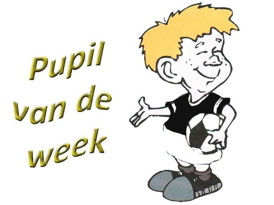 Wil jij graag Pupil van de week zijn?