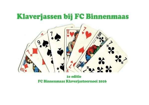 Klaverjastoernooi FC Binnenmaas
