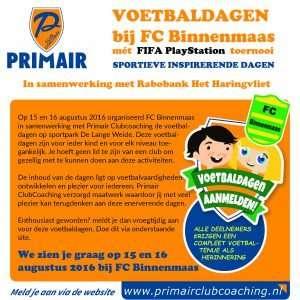 "Voetbaldagen FC Binnenmaas @ Sportpark ""De lange Weide | Maasdam | Zuid-Holland | Nederland"