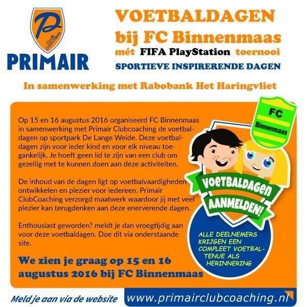 FC Binnenmaas Voetbaldagen