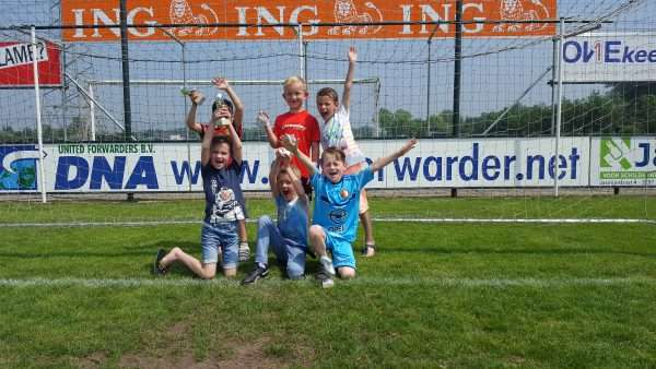 Team 1 Kabouters wint toernooi