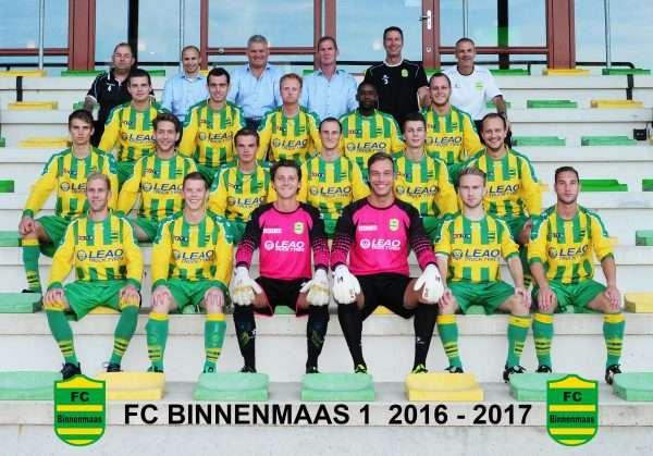 FC Binnenmaas doet zich zelf te kort tegen Alexandria '66