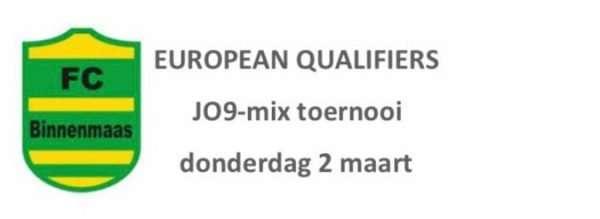 JO9-mix toernooi