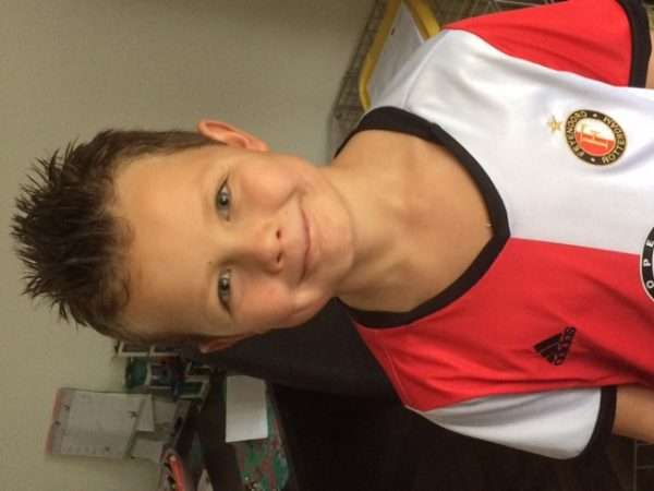 Pupil van de week is Davey Schouwenburg