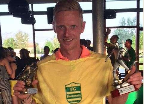 Danny Maijers speler van het jaar FC Binnenmaas 1